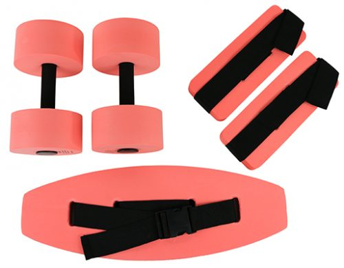 Small Deluxe Exercise Kit Red