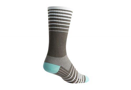 "Sock Guy Cascade 8"" Gray Crew Socks - grey, s/m"