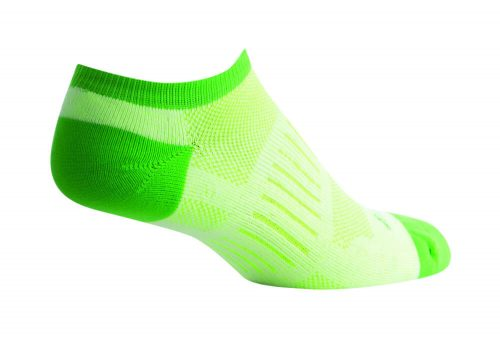Sock Guy Sprint Green No Show Socks - Women's - green, s/m