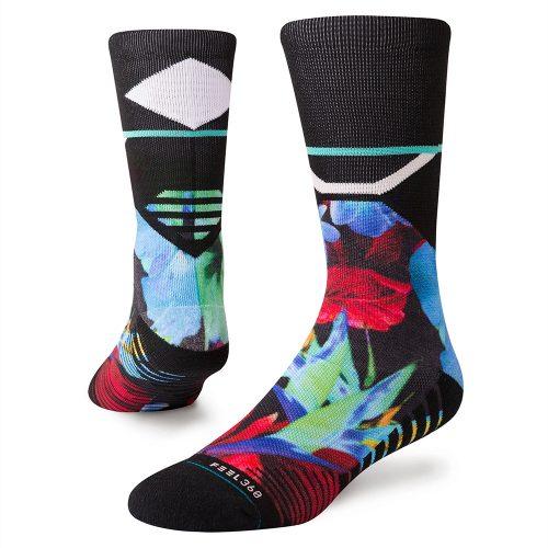Stance Neo Floral Training Crew Socks: Stance Men's Socks