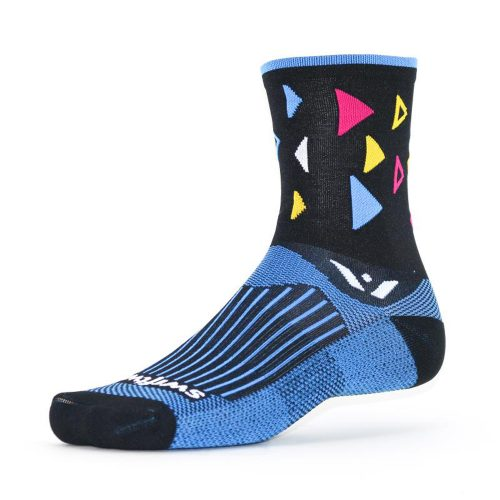 Swiftwick Vision Five Fiesta Crew Socks: Swiftwick Socks