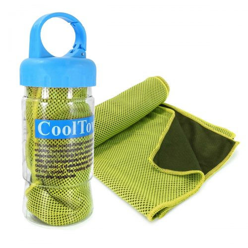 Tuff Luv D1-47 Microfibre Sports Cooling Gym Towel - Green