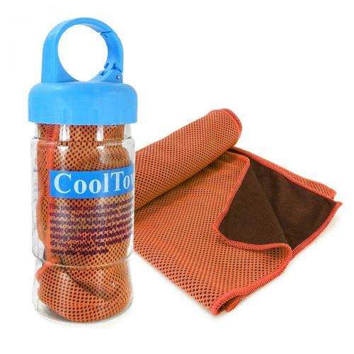 Tuff Luv D1-48 Microfibre Sports Cooling Gym Towel - Orange