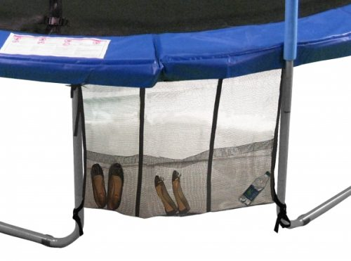 Universal Three Pouch Trampoline Shoe Bag