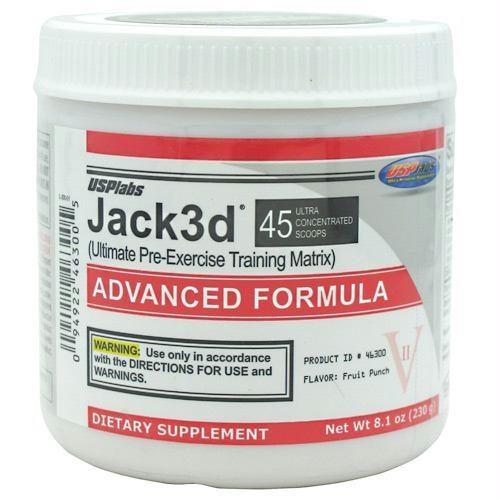 Usp Labs 4240054 Jack3D Advanced Fruit Punch