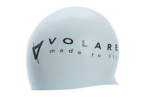 Volare Silicone Swim Cap - white, one size