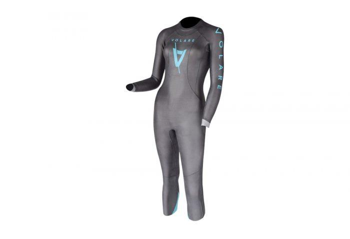 Volare V3 Triathlon Wetsuit - Women's - grey, l