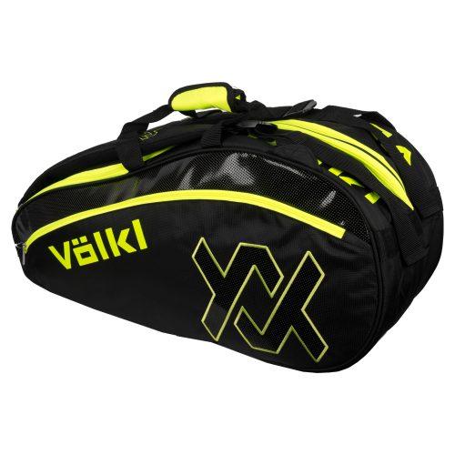 Volkl Tour Combi Bag Black/Neon Yellow: Volkl Tennis Bags