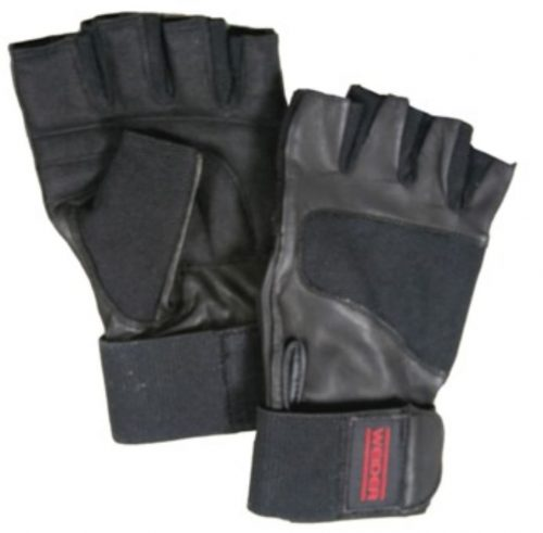 Weider WEGWWSM11 Professional Wrist Wrap Glove Black - Small & Medium
