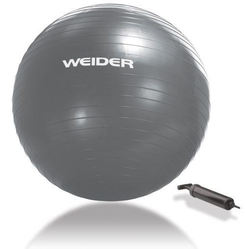 Weider WFB6511 65 cm Stability Ball Silver