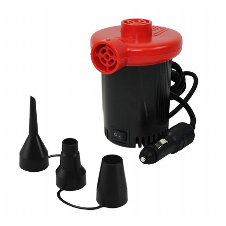 XPOWER 12V DC Inflatable Air Pump - Black