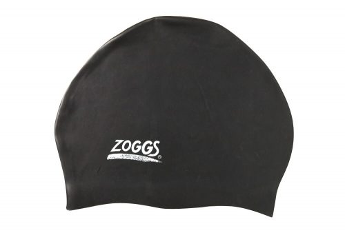 Zoggs Easy Fit Silicone Cap - black, one size