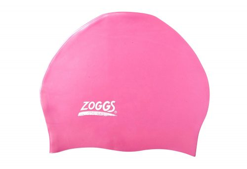 Zoggs Easy Fit Silicone Cap - pink, one size