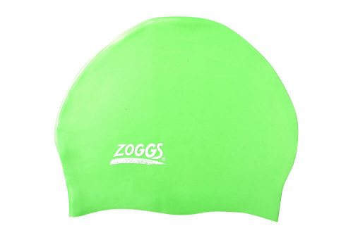 Zoggs Easy Fit Silicone Cap - uv green, one size