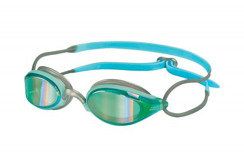 Zoggs Podium Mirrored Goggles - Women's - mint, one size