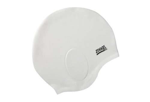 Zoggs Ultra Fit Cap - white, one size