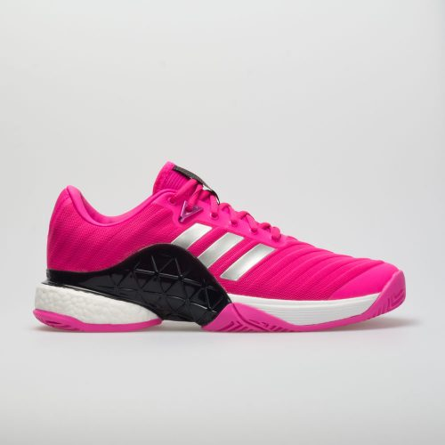 adidas Barricade Boost 2018: adidas Men's Tennis Shoes Shock Pink/Matte Silver/Legend Pink