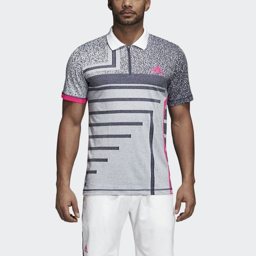adidas Rule 9 Seasonal Polo: adidas Men's Tennis Apparel