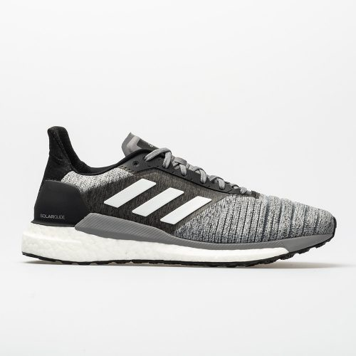 adidas Solar Glide: adidas Men's Running Shoes Heathered Grey/White