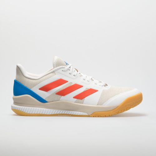 adidas Stabil Bounce: adidas Men's Indoor, Squash, Racquetball Shoes White/Solar Red/Bright Blue