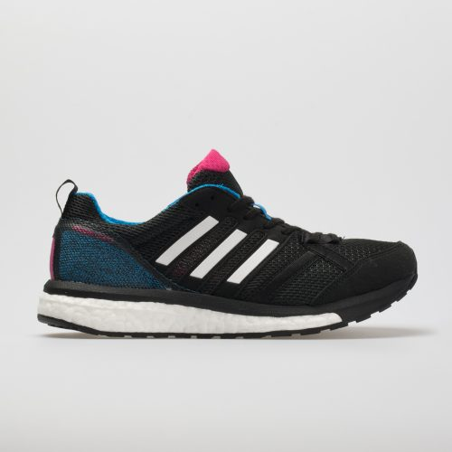 adidas adizero Tempo 9: adidas Women's Running Shoes Black/White/Bright Blue