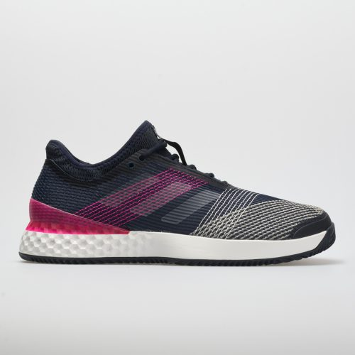 adidas adizero Ubersonic 3 Clay: adidas Men's Tennis Shoes Legend Ink/White/Shock Pink