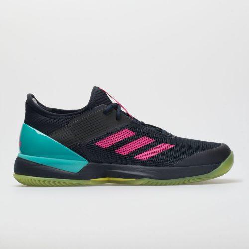 adidas adizero Ubersonic 3 Clay: adidas Women's Tennis Shoes Legend Ink/Shock Pink