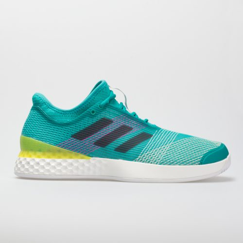 adidas adizero Ubersonic 3: adidas Men's Tennis Shoes Hi-Res Aqua/Legend Ink/Shock Pink