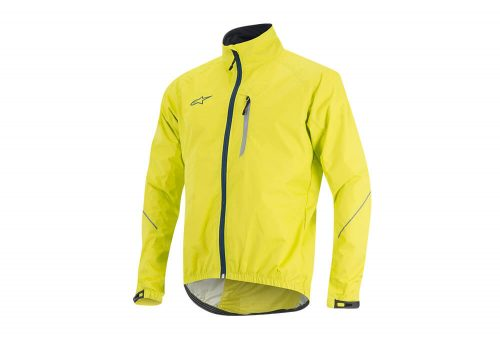 alpinestars Descender WP Jacket - Men's - acid yellow/abyss blue, large