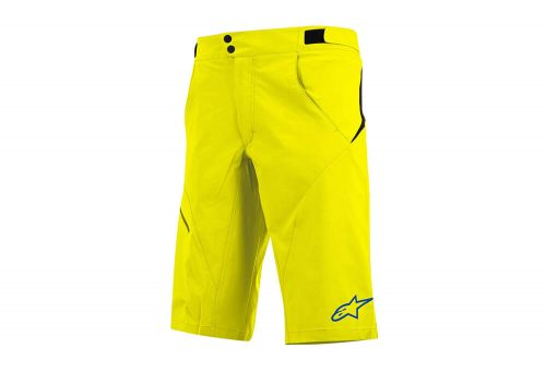 alpinestars Pathfinder Shorts - Men's - acid yellow/abyss blue, 36