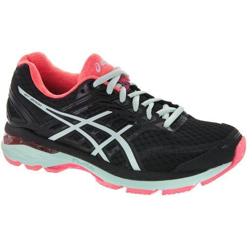 ASICS GT-2000 5: ASICS Women's Running Shoes Black/Bay/Diva Pink