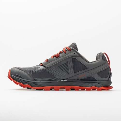 Altra Lone Peak 4: Altra Men's Running Shoes Gray/Orange