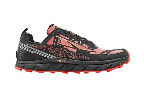 Altra Lone Peak Neoshell 3 Shoes - Men's - black/orange, 10.5