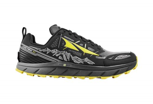 Altra Lone Peak Neoshell 3 Shoes - Men's - black/yellow, 9.5