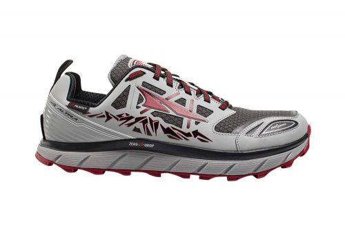 Altra Lone Peak Neoshell 3 Shoes - Men's - gray/red, 11.5