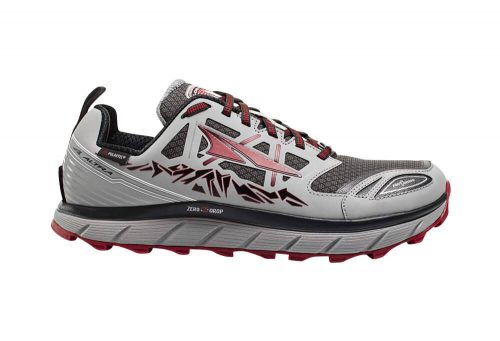 Altra Lone Peak Neoshell 3 Shoes - Men's - gray/red, 9.5