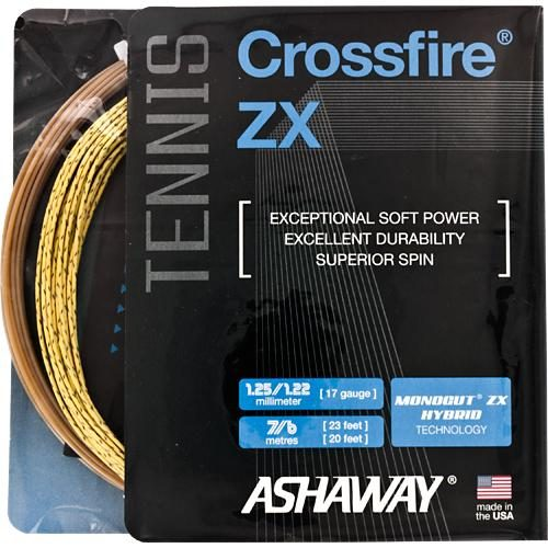 Ashaway Crossfire ZX: Ashaway Tennis String Packages