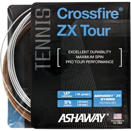 Ashaway Crossfire ZX Tour: Ashaway Tennis String Packages