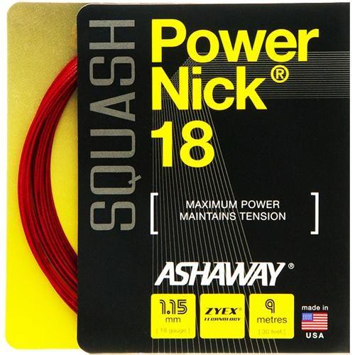 Ashaway PowerNick 18 Squash: Ashaway Squash String Packages