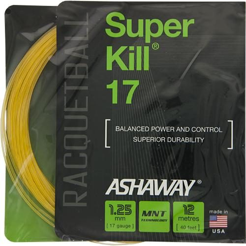 Ashaway SuperKill 17 Racquetball: Ashaway Racquetball String Packages