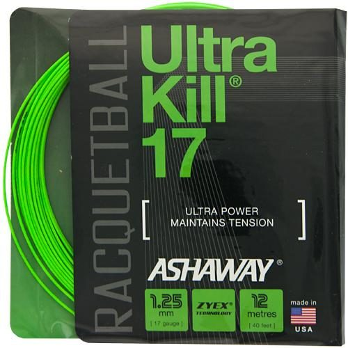 Ashaway UltraKill 17 Racquetball: Ashaway Racquetball String Packages