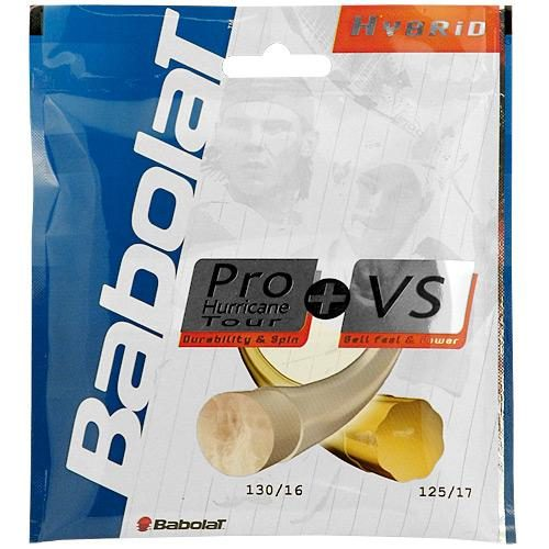 Babolat Pro Hurricane Tour 17 + VS 16: Babolat Tennis String Packages
