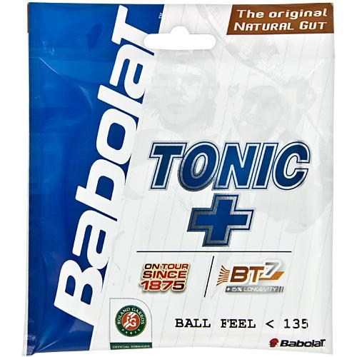 Babolat Tonic+ Ball Feel BT7 15L: Babolat Tennis String Packages