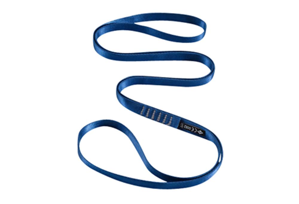 Black Diamond 18 mm Nylon Runner 120 cm - blue, 120 cm
