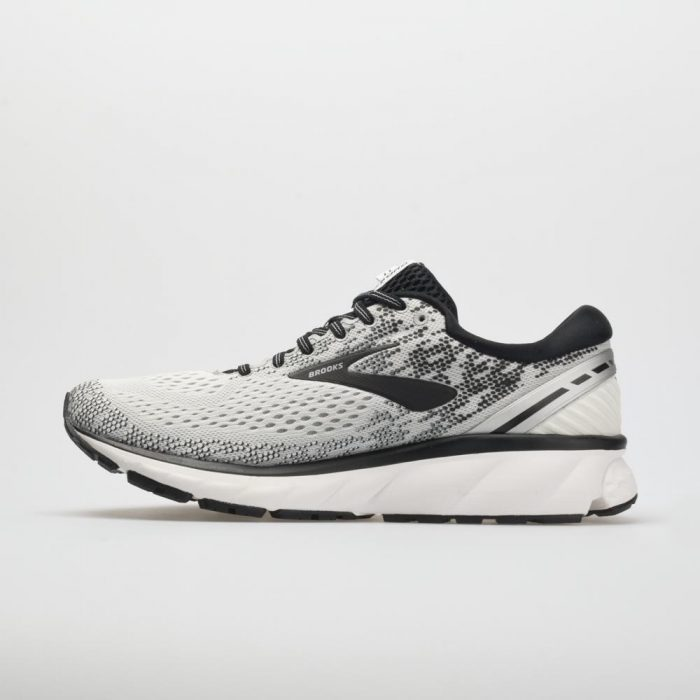 Brooks Ghost 11: Brooks Men's Running Shoes White/Black/White