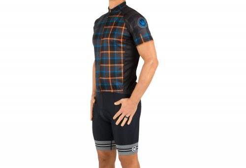 Canari Century Jersey - Men's - tartanic/black, large
