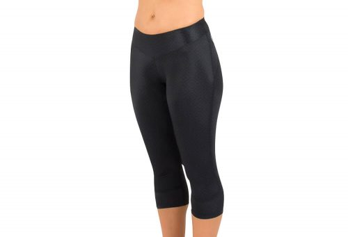 Canari Jasmine Gel Capri - Women's - lace/black, medium