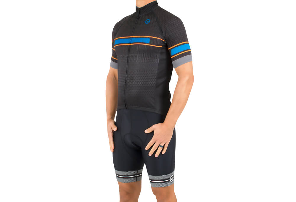 Canari Valyrian Jersey - Men's - geohex/black, x-large