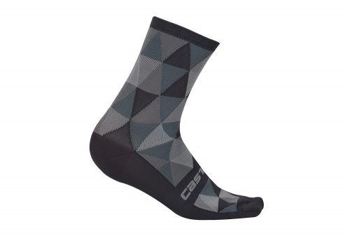Castelli Fausto 13 Socks - multicolor grey, s/m