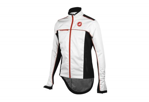 Castelli Sella Rain Jacket - Men's - white/black, x-large